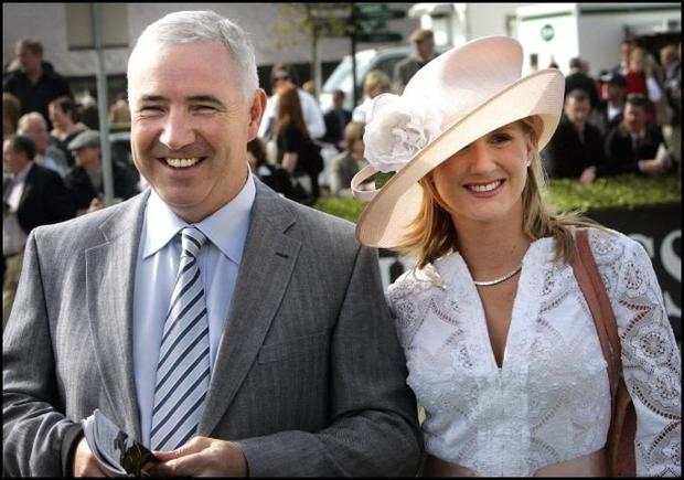 Seán Dunne says his sole source of income is from work for a company in which his wife, Gayle Killilea, is involved. Photo: Steve Humphreys