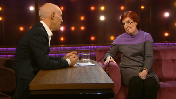 Kate Tobin on The Ray D'Arcy Show. Image: RTE