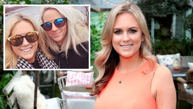 """Cassie Stokes has said she is """"thrilled"""" that her girlfriend (inset) has moved from Canada to live in Ireland."""