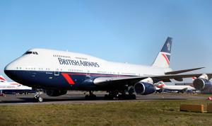 Workhorse: The Boeing 747 was first introduced on BOAC's London to New York route in 1971. Photo: Andrew Matthews/PA Wire