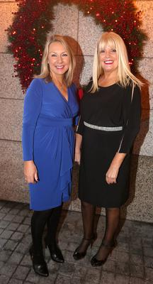 Seantor Imelda Henry, left, and Mary Mitchell O'Connor, TD, pictured before a Fine Gael lunch at the four seasons Hotel in Ballsbridge