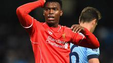 Liverpool striker Daniel Sturridge has missed most of the season with a thigh injury, and his latest setback is believed to be a recurrence of the same problem. Photo: Laurence Griffiths/Getty Images