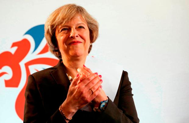 British Prime Minister Theresa May. Photo: AFP/Getty Images