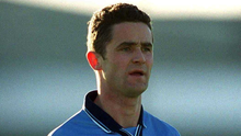 Enda Sheehy lines out for Dublin back in 2001