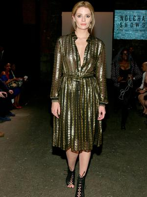 Actress Mischa Barton attends the Globe Fashion Week X China Moment fashion show during New York Fashion Week: The Shows at Art Beam on September 12, 2016 in New York City.  (Photo by Mireya Acierto/Getty Images for New York Fashion Week: The Shows)