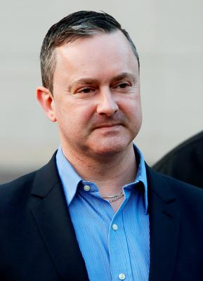 File photo dated 26/03/15 of gay rights activist Gareth Lee. PRESS ASSOCIATION Photo. Issue date: Tuesday May 19, 2015. A verdict is due to be delivered in the case against a Christian bakery which refused to make a cake bearing a pro-gay marriage slogan. District Judge Isobel Brownlie had reserved her judgment following three days of evidence at Belfast County Court in March. See PA story ULSTER Cake. Photo credit should read: Brian Lawless/PA Wire