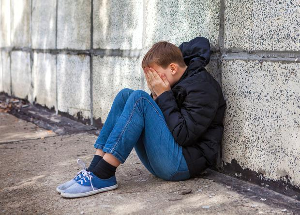 Needing help: Some troubled youngsters have been sent abroad for treatment despite almost half of secure unit beds for children in Ireland not being used. Picture posed.