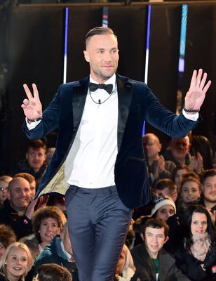 Calum Best entering the Celebrity Big Brother house at the start of the latest series of the Channel 5 programme at Elstree Studios, Borehamwood. PRESS ASSOCIATION Photo. Picture date: Wednesday January 7, 2015. Photo credit should read: Ian West/PA Wire