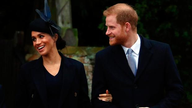 Britain's Prince Harry, Duke of Sussex and Meghan, Duchess of Sussex leave St Mary Magdalene's church after the Royal Family's Christmas Day service on the Sandringham estate in eastern England, Britain, December 25, 2018. REUTERS/Hannah McKay