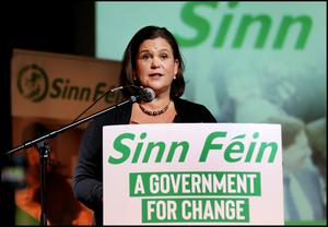 Mary Lou McDonald is calling for a 'fair recovery'. Picture: Steve Humphreys