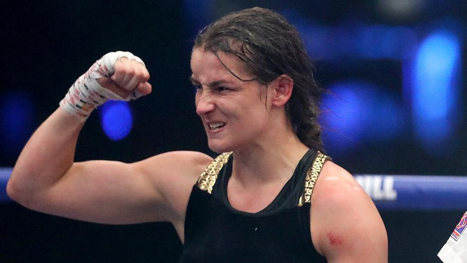 Katie Taylor. Photo: Matchroom Boxing via Sportsfile