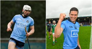 Liam Rushe and Conal Keaney are two of the greatest hurlers to play for Dublin - but who is better? Image credit: Sportsfile.
