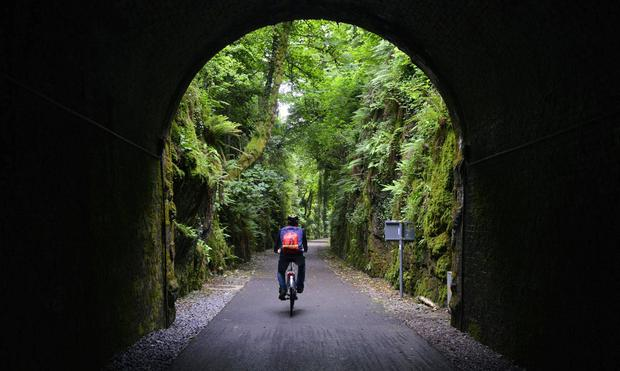 The Waterford Greenway was an old railway line