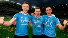 Brian Fenton, Ciarán Kilkenny and James McCarthy