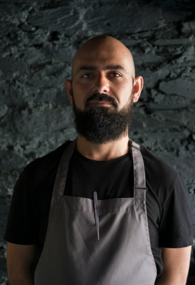 Ahmet Dede, head chef of Mews restaurant, Baltimore, West Cork. Photo: Rohan Reilly