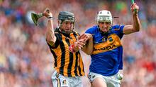 7 September 2014; Patrick Maher, Tipperary, in action against Conor Fogarty, Kilkenny. GAA Hurling All Ireland Senior Championship Final, Kilkenny v Tipperary. Croke Park, Dublin. Picture credit: Stephen McCarthy / SPORTSFILE