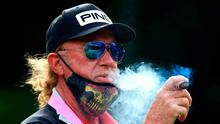 Miguel Angel Jimenez, pictured at last week's British Masters, makes a record 707th European Tour appearance today. Photo: PA