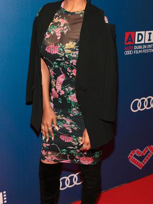 Samantha Mumba pictured  at the Audi Dublin International Film Festival closing night gala screening of Handsome Devil at The Savoy Cinema in Dublin. Picture: Brian McEvoy