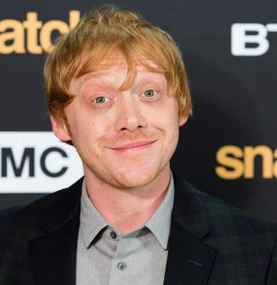 Rupert Grint (pictured) took record from David Attenborough