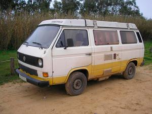 A handout photo issued by Metropolitan Police of a VW T3 Westfalia campervan that has been linked to the suspect