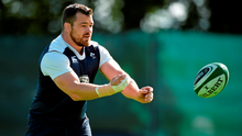 Our heavenly Father is the only one who knows whether Cian Healy will last 30 seconds or the whole World Cup tournament