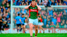 A dejected Cillian O'Connor, Mayo