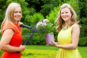 Nuala Carey & Helen Curran, RT? Weather, launch RT? at Bloom 2015
