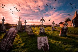 Clonmacnoise, Co. Offaly. Photo: Deposit
