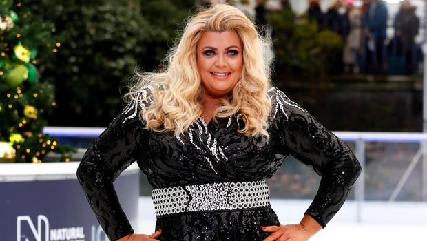 Gemma Collins has denied claims she faked her Dancing On Ice fall (David Parry/PA)