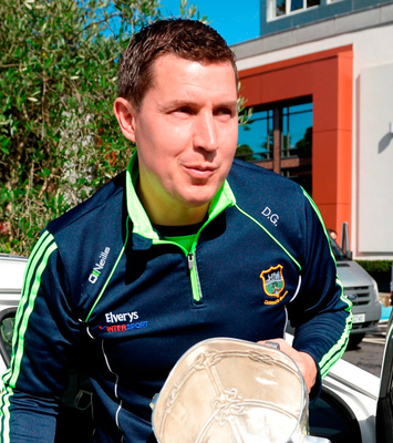 Tipperary hurler Darren Gleeson with the Liam MacCarthy Cup in September Photo by Piaras Ó Mídheach/Sportsfile
