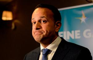 New chapter: Taoiseach Leo Varadkar will be two years in his job this June. Photo: Caroline Quinn