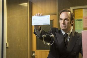 Change of scene: Bob Odenkirk as lawyer Saul Goodman in Better Call Saul. Photo: Ursula Coyote/AMC