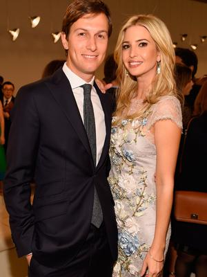 Jared Kushner (L) and Ivanka Trump attend the Valentino Sala Bianca 945 Event on December 10, 2014 in New York City.  (Photo by Dimitrios Kambouris/Getty Images)
