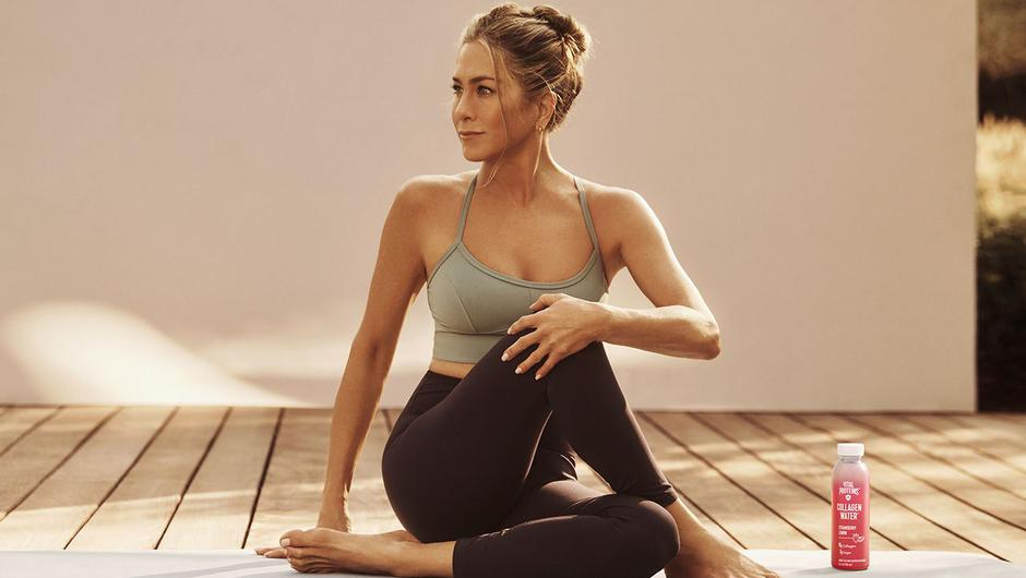 STAR QUALITY: Jennifer Aniston is a massive fan of the products