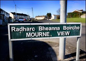 Mourne View in Skerries where the incident took place. Pic Steve Humphreys