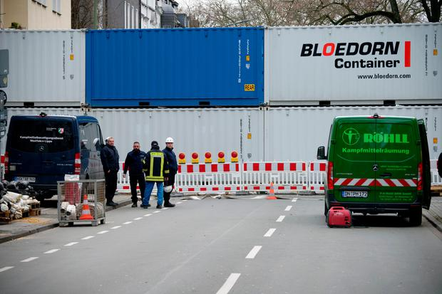 German Authorities Evacuate 14,000 People After Finding Two 330lb WWII Bombs