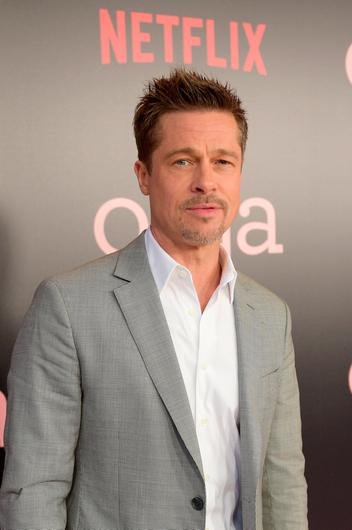 """Brad Pitt attends """"Okja"""" New York Premiere at AMC Loews Lincoln Square 13 on June 8, 2017 in New York City.  (Photo by Jason Kempin/Getty Images for Netflix)"""