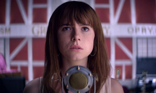 Wild card: Jessie Buckley has been nominated in the Leading Actress category for her role in 'Wild Rose'