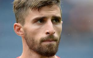 Digging in: Fabio Borini, the Liverpool striker, is hoping to stay at Anfield