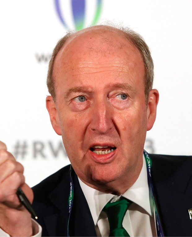 'Mr Ross, citing the use of public money, was happy to interfere on this occasion, but refused to become involved in various transport disputes in the past on the basis that it would be inappropriate.' Photo: Sportsfile
