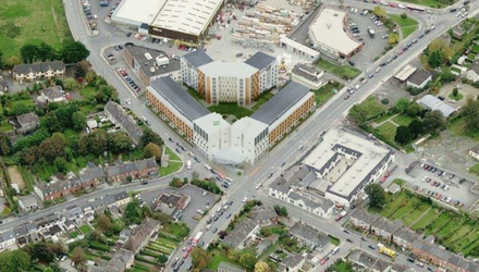 Plan: How the proposed €30m Punches Cross student village in Limerick city would look