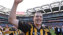 Walter Walsh, Kilkenny, celebrates after the final whistle in 2012