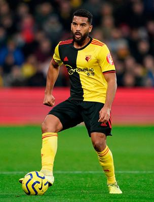 The 33-year-old defender, who lives with his partner and three of his four children, has spent lockdown dividing his time between following his Watford fitness programme and homeschooling. Photo: Tess Derry/PA Wire.