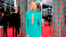 Laura Whitmore attending the EE British Academy Film Awards at the Royal Opera House, Bow Street, London