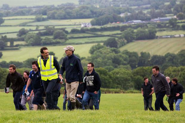 Pictured at the Seminar and Farm Walk. Picture Clare Keogh