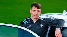 13 February 2020; Mitsubishi Motors are delighted to announce their new partnership with Dublin GAA as official vehicle sponsors. Pictured is Dublin hurler Chris Crummey at Parknell Park in Dublin. Photo by Sam Barnes/Sportsfile