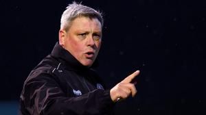 Making his point: Keith Long. Photo: Oliver McVeigh/Sportsfile