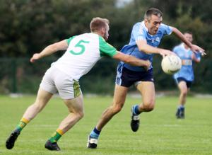 Johnny Doyle made his club championship debut for Allenwood in 1996 and he is still having a big impact on games 24 years later, as demonstrated over the weekend