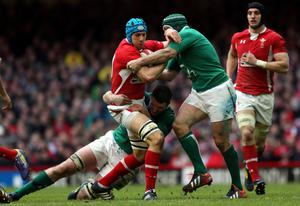 Justin Tipuric of Wales