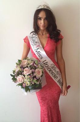 Lisa Madden was crowned Miss Universe Ireland in October
